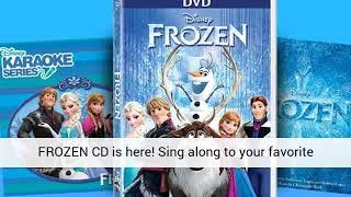Disney Karaoke Series: FROZEN CD - VIDEO REVIEW 2015