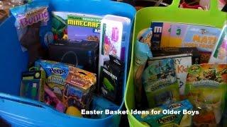 Easter Basket Ideas For Older Boys