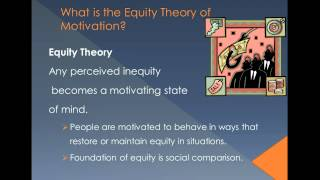 Motivation Theories Chapter 5