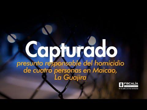 Fiscal Francisco Barbosa anuncia captura de presunto responsable del crimen de 4 personas en Maicao