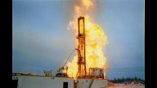 Газ в скважине на воду! Бурение скважины на воду в Ленинградской области.