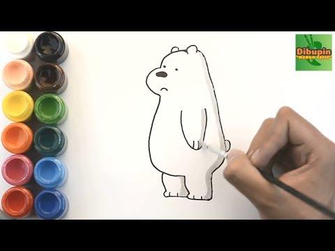 Como Dibujar Y Colorear A Oso Polar De Osos Escandalosos How To Draw
