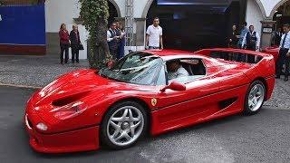 ¡El único Ferrari F50 sobre las calles de México!