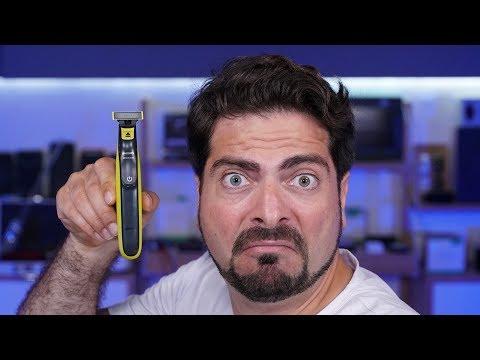 Questo Rasoio Elettrico è da PROVARE! è DIVERSO! Philips OneBlade UNBOXING E PROVA!