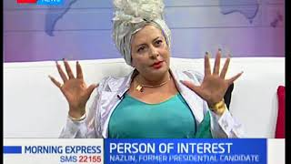 Nazlin Umar claims that government officials are giving out