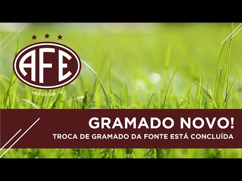 Vídeo / O lindo  e belo gramado do estádio da Fonte Luminosa.Um dos melhores do Brasil!
