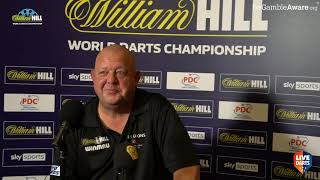 """Mervyn King: """"I went back to work because we had no darts, I'm not one to sit on my backside"""""""