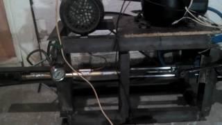 Kompresor Pcp Buatan Sendiri 3500psi Dari Bekas Komresor Kulkas.By Sutenggo