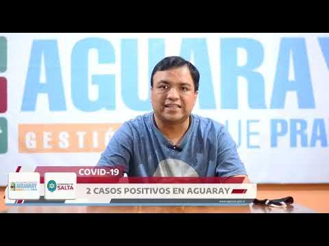 Video: Cómo llegaron los dos casos positivos a Aguaray Salta