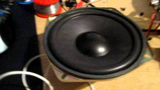 TDA 8560 Portable amp - Test 1