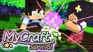 Flower's Garden SECRET!! | MyCraft Family Minecraft Survival [Ep.3]