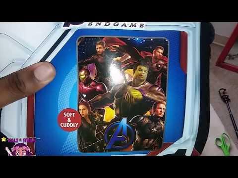 """Marvel Avengers Endgame Silk Touch Throw Blanket, 40"""" x 50"""""""