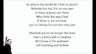 Eminem ft. Kobe - Talkin' 2 Myself lyrics [HD]