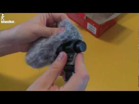 Unboxing Canon externes Mikrofon DM-100