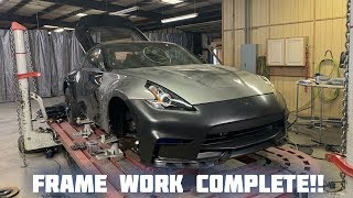 Rebuilding a Wrecked 2018 Nissan 370Z Nismo Part 2