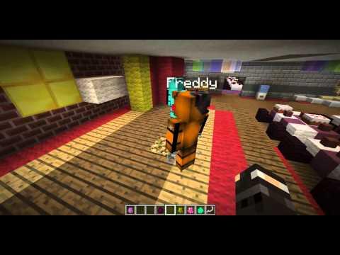 Mod Showcase #2 FreddyCraft Mod!!!! ||DERP