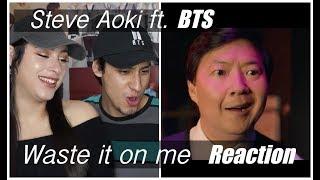 steve aoki bts waste it on me reaction - TH-Clip