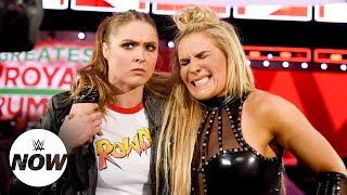 Rousey lends helping hand to Natalya, targets Mickie's arm: WWE Now - Video Youtube