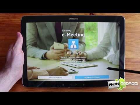 Samsung Galaxy NotePRO 12.2 Test - par Phonandroid.com