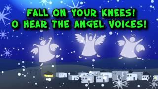 O Holy Night! (Lyric Video) | The Christmas Carol Special Report [A Simple Plus Christmas]