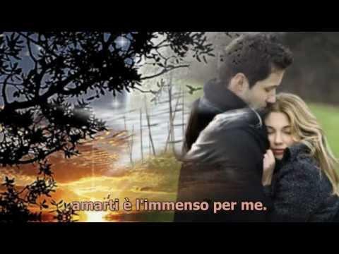 , title : 'Amarti è l'immenso per me - Eros Ramazzotti & Antonella Bucci (con testo)'