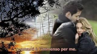 Amarti è l'immenso per me - Eros Ramazzotti & Antonella Bucci (con testo)
