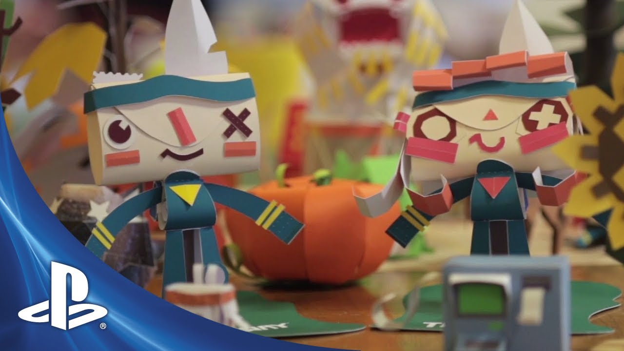 New Tearaway Story Trailer Debuted