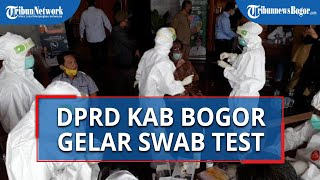Anggota DPRD Kabupaten Bogor Jalani Swab Massal Setelah Ada Staf Positif Corona