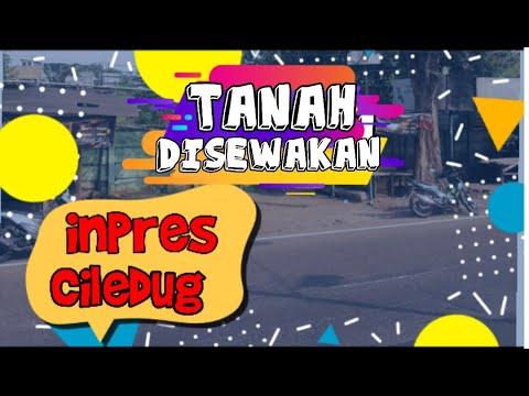 Tanah Disewakan Ciledug, Tangerang 12420 KXH80J66 www.ipagen.com