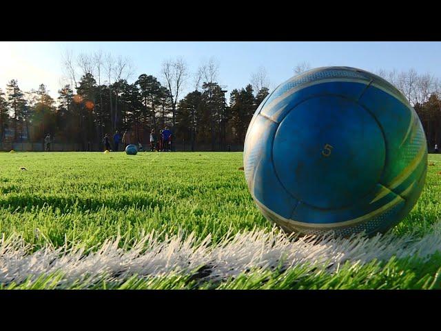 В Ангарске отремонтировали два футбольных поля
