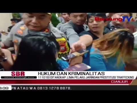 Ditangkap, Lima Pelaku Jaringan Prostitusi Trafficking | SBR | BANDUNGTV