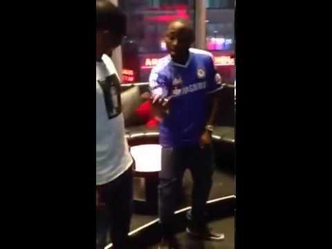Davido and Samuel Eto's Dancing Skelewu @Onlygist