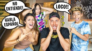 SPEAKING ONLY SPANISH for 24 Hours!!! 😂 | The Royalty Family