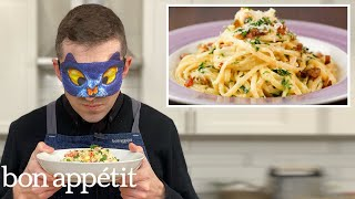Recreating Rachael Ray's Crab Carbonara from Taste | Reverse Engineering | Bon Appétit