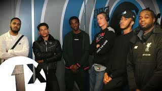 Yizzy, Jammz, Koder, Gemini & Aaron Unknown With Sir Spyro On BBC 1Xtra