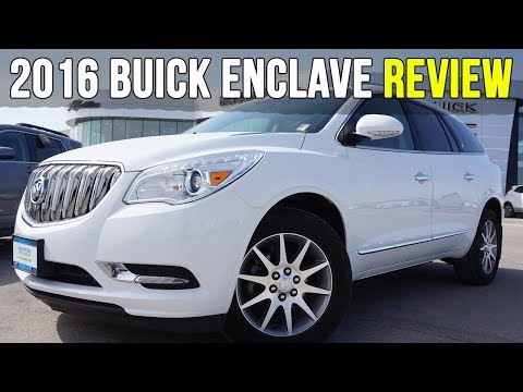 2016 Buick Enclave AWD | Choccachino Leather Interior (In-Depth Review)