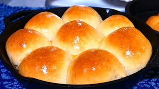 Dinner Rolls (SOFT & FLUFFY) | Dads Hops Bread Recipe