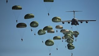 """Blood on the Risers"" (gory gory what a hell of a way to die) 101st Airborne footage"