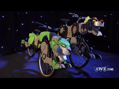 Go Voltron Bikes!