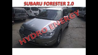 Subaru Forester hidrojen yakıt sistem montajı