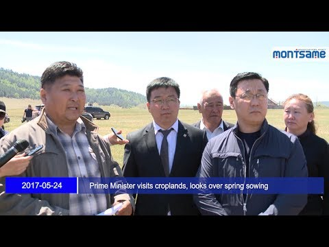 Prime Minister visits croplands, looks over spring sowing