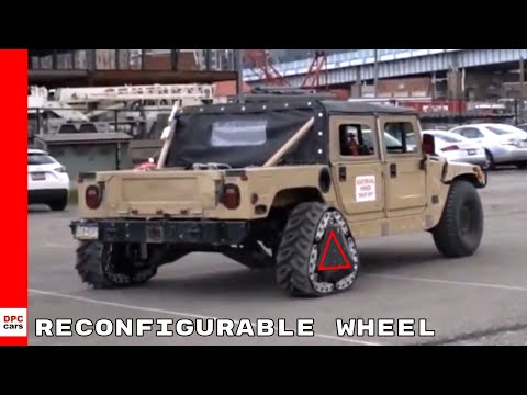 Reconfigurable Wheel Track & Extreme Travel Suspension By DARPA