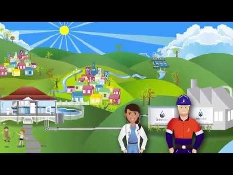 The sewage treatment process