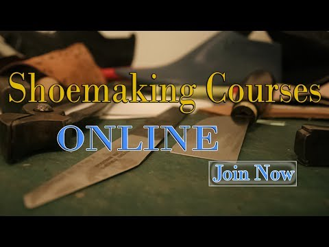 Shoemaking Courses Online:  Penny Loafers Shoes