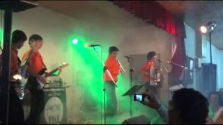 preview picture of video 'LOS HEREDEROS DEL RITMO - PROVINCIA LA PAMPA (ARGENTINA) - Actuación Guatrache 05-05-2012'