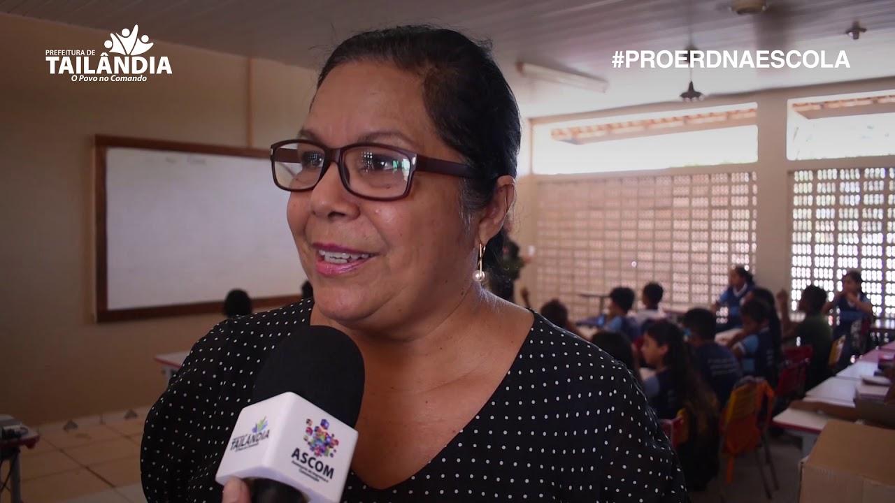 Proerd na Escola – Prefeitura de Tailândia