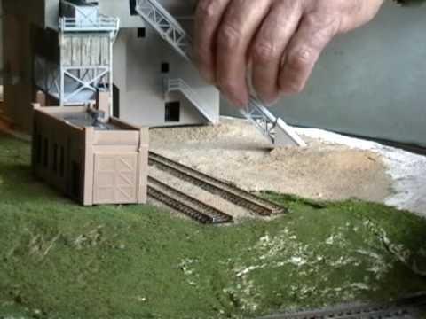 N Scale Custom Model Railroad Layouts