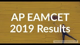 AP EAMCET Results 2019, AP EAMCET Results Date 2019, EAMCET 2019 Result