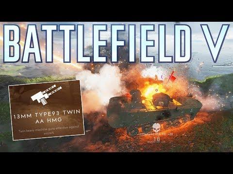 Infantry players fear the Japanese KA-MI Tank! - Battlefield V Pacific
