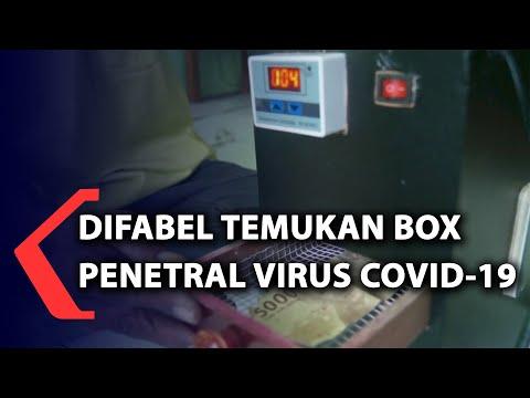 difabel temukan box penetral virus covid-